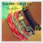 { Tutorial Armband aus Jerseystreifen } jersey-knit-bracelet -