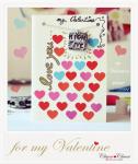 Valentinstag Karte DIY